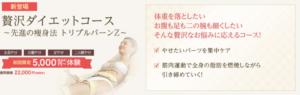 ミスパリの痩身エステの体験5,000円~