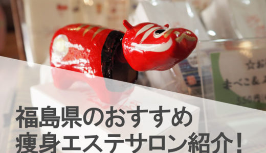 福島県(福島市,いわき,郡山)でおすすめの人気痩身エステサロンの口コミ評判!
