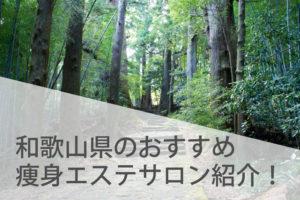 和歌山県の人気があるおすすめ痩身エステサロン