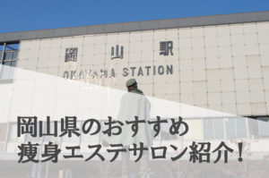 岡山県の痩身エステサロンランキング