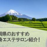 静岡県のおすすめ痩身エステサロンランキング